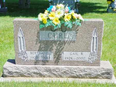 CURL, GAIL B. - Shelby County, Ohio | GAIL B. CURL - Ohio Gravestone Photos