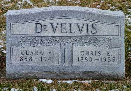DEVELVIS, CLARA A. - Shelby County, Ohio | CLARA A. DEVELVIS - Ohio Gravestone Photos