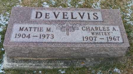 DEVELVIS, CHARLES A. - Shelby County, Ohio | CHARLES A. DEVELVIS - Ohio Gravestone Photos