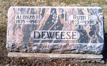 DEWEESE, ALONZO H. - Shelby County, Ohio | ALONZO H. DEWEESE - Ohio Gravestone Photos