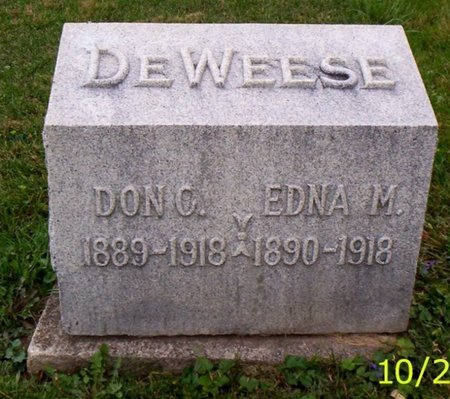 DEWEESE, DON C. - Shelby County, Ohio | DON C. DEWEESE - Ohio Gravestone Photos