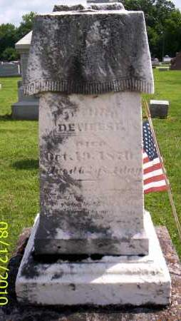 DEWEESE, JETHRO - Shelby County, Ohio | JETHRO DEWEESE - Ohio Gravestone Photos