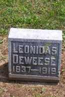 DEWEESE, LEONIDAS - Shelby County, Ohio | LEONIDAS DEWEESE - Ohio Gravestone Photos