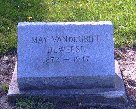VANDEGRIFT DEWEESE, MAY - Shelby County, Ohio | MAY VANDEGRIFT DEWEESE - Ohio Gravestone Photos
