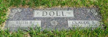 DOLL, CLAUDE S. - Shelby County, Ohio | CLAUDE S. DOLL - Ohio Gravestone Photos