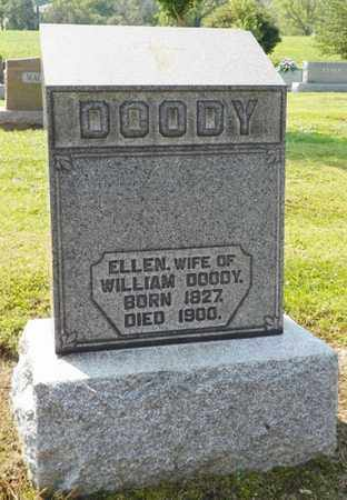 DOODY, ELLEN - Shelby County, Ohio | ELLEN DOODY - Ohio Gravestone Photos