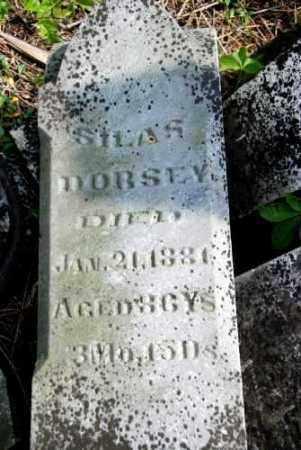 DORSEY, SILAS - Shelby County, Ohio | SILAS DORSEY - Ohio Gravestone Photos