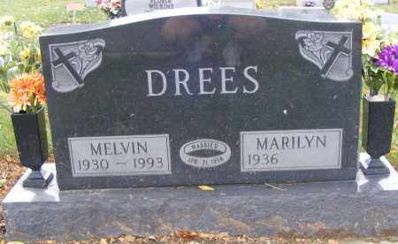 DREES, MELVIN - Shelby County, Ohio | MELVIN DREES - Ohio Gravestone Photos