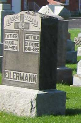 EILERMAN, CATHERINE - Shelby County, Ohio | CATHERINE EILERMAN - Ohio Gravestone Photos