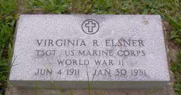 ELSNER, VIRGINIA R. - Shelby County, Ohio | VIRGINIA R. ELSNER - Ohio Gravestone Photos