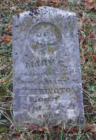 ETHERINGTON, MARY G. - Shelby County, Ohio | MARY G. ETHERINGTON - Ohio Gravestone Photos