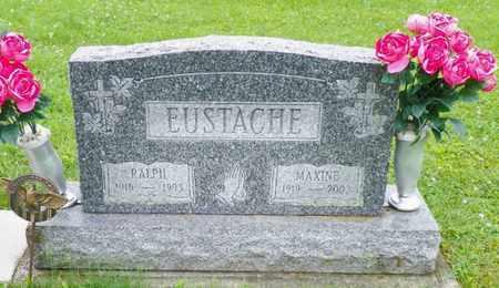 MORELAND EUSTACHE, MAXINE - Shelby County, Ohio | MAXINE MORELAND EUSTACHE - Ohio Gravestone Photos