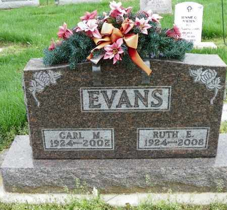EVANS, CARL M. - Shelby County, Ohio | CARL M. EVANS - Ohio Gravestone Photos