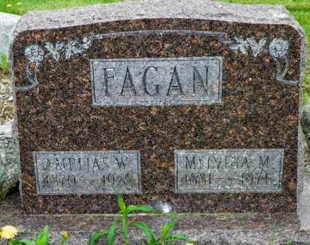 FAGAN, MELVINA M. - Shelby County, Ohio | MELVINA M. FAGAN - Ohio Gravestone Photos