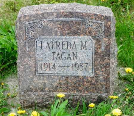 FAGAN, LAFREDA M. - Shelby County, Ohio | LAFREDA M. FAGAN - Ohio Gravestone Photos