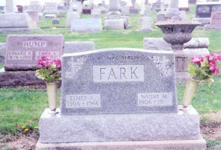 FARK, ELMER - Shelby County, Ohio | ELMER FARK - Ohio Gravestone Photos