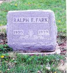 FARK, RALPH E. - Shelby County, Ohio | RALPH E. FARK - Ohio Gravestone Photos