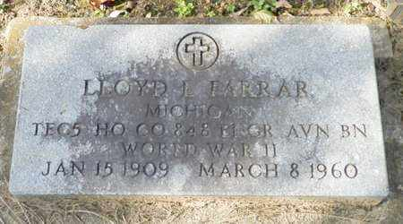 FARRAR, LLOYD L. - Shelby County, Ohio | LLOYD L. FARRAR - Ohio Gravestone Photos