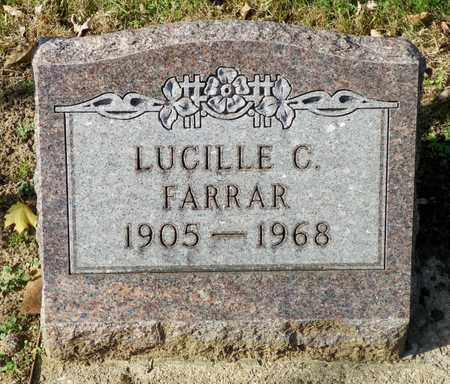 FARRAR, LUCILLE C. - Shelby County, Ohio | LUCILLE C. FARRAR - Ohio Gravestone Photos