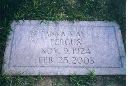 FERGUS, ANNA MAE - Shelby County, Ohio | ANNA MAE FERGUS - Ohio Gravestone Photos
