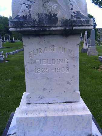 FIELDING, ELIZABETH M - Shelby County, Ohio | ELIZABETH M FIELDING - Ohio Gravestone Photos