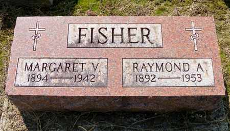 FISHER, RAYMOND A. - Shelby County, Ohio | RAYMOND A. FISHER - Ohio Gravestone Photos