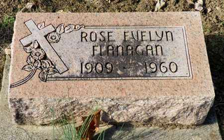 FLANAGAN, ROSE EVELYN - Shelby County, Ohio | ROSE EVELYN FLANAGAN - Ohio Gravestone Photos