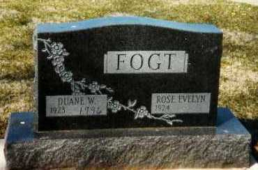 FOGT, DUANE W. - Shelby County, Ohio | DUANE W. FOGT - Ohio Gravestone Photos