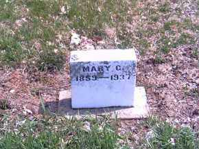 FRANKEBERGER, MARY C. - Shelby County, Ohio | MARY C. FRANKEBERGER - Ohio Gravestone Photos