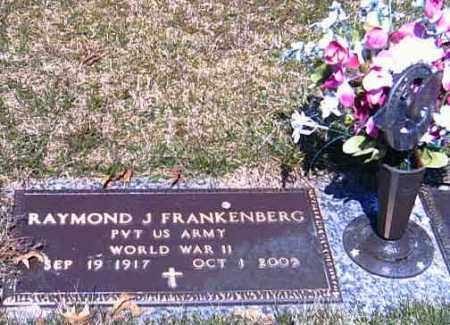 FRANKENBERG, RAYMOND J. - Shelby County, Ohio | RAYMOND J. FRANKENBERG - Ohio Gravestone Photos