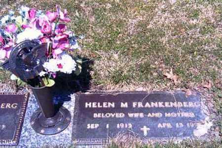 FRANKENBERT, HELEN M. - Shelby County, Ohio | HELEN M. FRANKENBERT - Ohio Gravestone Photos