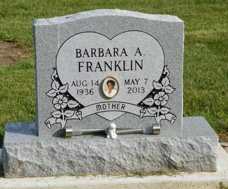 DANIEL FRANKLIN, BARBARA A. - Shelby County, Ohio | BARBARA A. DANIEL FRANKLIN - Ohio Gravestone Photos