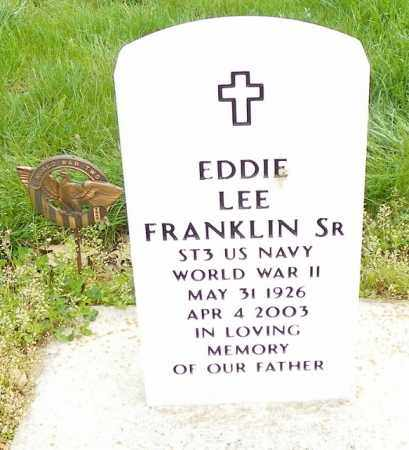 FRANKLIN, EDDIE LEE - Shelby County, Ohio | EDDIE LEE FRANKLIN - Ohio Gravestone Photos