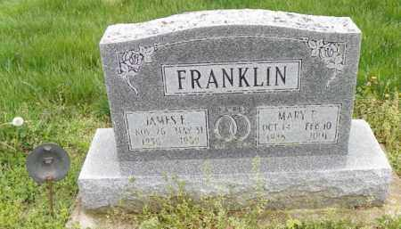 FRANKLIN, MARY E. - Shelby County, Ohio | MARY E. FRANKLIN - Ohio Gravestone Photos