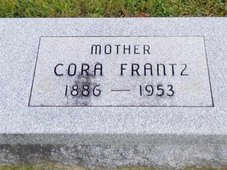 FRANTZ, CORA - Shelby County, Ohio | CORA FRANTZ - Ohio Gravestone Photos