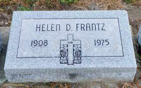 FRANTZ, HELEN D. - Shelby County, Ohio | HELEN D. FRANTZ - Ohio Gravestone Photos