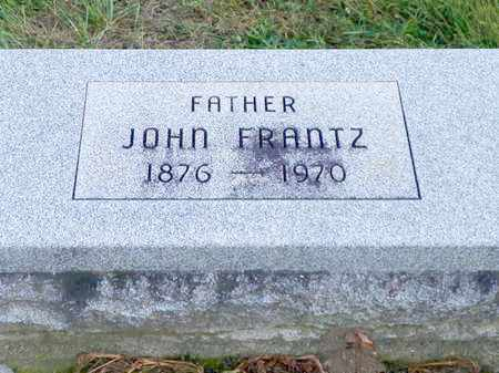 FRANTZ, JOHN - Shelby County, Ohio | JOHN FRANTZ - Ohio Gravestone Photos