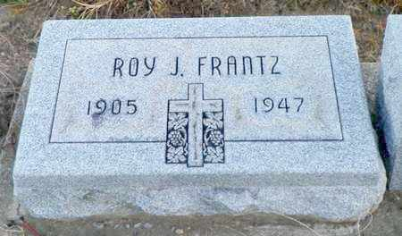 FRANTZ, ROY J. - Shelby County, Ohio | ROY J. FRANTZ - Ohio Gravestone Photos