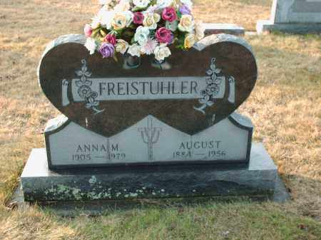 FREISTUHLER, ANNA M - Shelby County, Ohio | ANNA M FREISTUHLER - Ohio Gravestone Photos