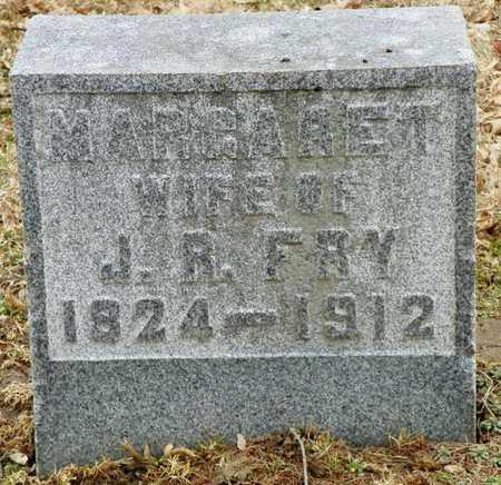 FRY, MARGARET - Shelby County, Ohio   MARGARET FRY - Ohio Gravestone Photos