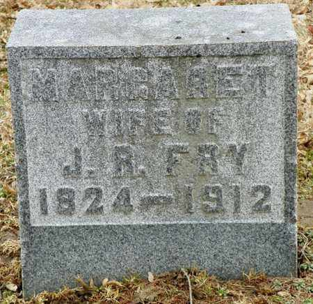 FRY, MARGARET - Shelby County, Ohio | MARGARET FRY - Ohio Gravestone Photos