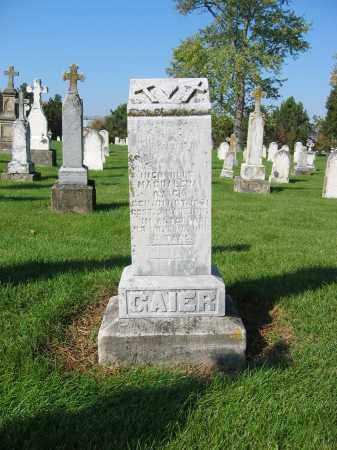 GAIER, MAGDALENA - Shelby County, Ohio | MAGDALENA GAIER - Ohio Gravestone Photos