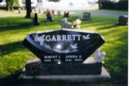 GARRETT, DONNA B - Shelby County, Ohio | DONNA B GARRETT - Ohio Gravestone Photos