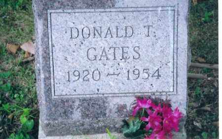 GATES, DONALD T - Shelby County, Ohio | DONALD T GATES - Ohio Gravestone Photos