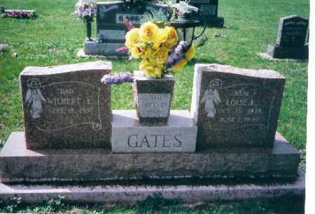 GATES, WILBERT - Shelby County, Ohio | WILBERT GATES - Ohio Gravestone Photos
