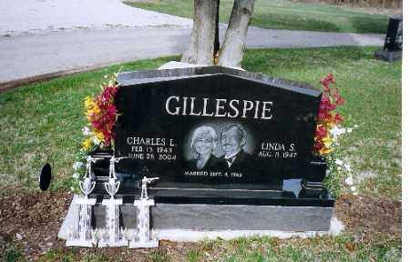 GILLESPIE, CHARLES L. - Shelby County, Ohio | CHARLES L. GILLESPIE - Ohio Gravestone Photos