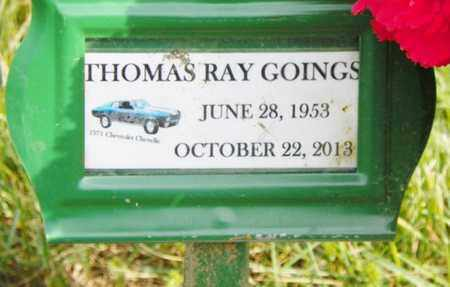 GOINGS, THOMAS RAY - Shelby County, Ohio | THOMAS RAY GOINGS - Ohio Gravestone Photos