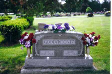GOODYKOONTZ, MARIE - Shelby County, Ohio | MARIE GOODYKOONTZ - Ohio Gravestone Photos