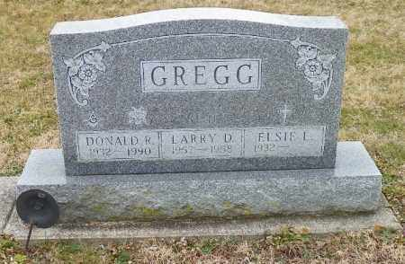 GREGG, DONALD R. - Shelby County, Ohio | DONALD R. GREGG - Ohio Gravestone Photos