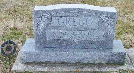 GREGG, RONALD L. - Shelby County, Ohio | RONALD L. GREGG - Ohio Gravestone Photos